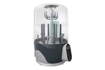 (Turbo Pure) - Babymoov Turbo Pure Steriliser Dryer | Patented Purified Sterilisation, Fast & Clean Drying, Bottle Storage and Easy Use (ELIMINATES 99.9% of Bacteria)