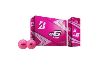 (Pink) - Bridgestone E6 Lady 2019 - Golf Balls
