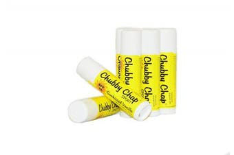(Sun-kissed Vanilla) - Chubby Chap - One (1x) Large Jumbo Chapstick Natural Chapstick - .150ml Lip Balm (Sun-kissed Vanilla)
