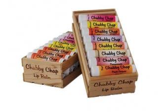 (Canteloupe) - Chubby Chap - Large Jumbo Chapstick Natural Chapstick - .150ml Lip Balm