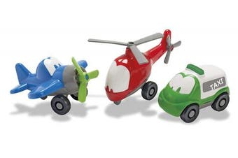 American Educational Products DT-7551 Fun Cars Travel Set Activity Set, 7.9cm Height, 12cm Wide, 15cm Length