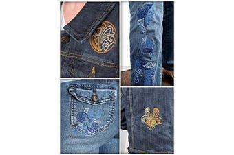 Tear Away Stabiliser for Embroidery by SewArtsy - 50ml Medium Weight Roll 30cm x 50 yd - Bulk Tearaway Backing - Machine or Hand Designs Hoop Stabilisers and Professional Supply Rolls