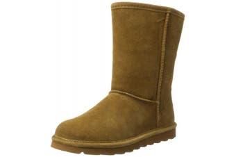 (6 UK, Brown (Hickory Ii 220)) - Bearpaw Women's Elle Short Slouch Boots