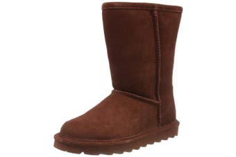 (7 UK, Red (Russet 600)) - Bearpaw Women's Elle Short Slouch Boots