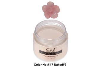 C & I Acrylic Powder, Colour # 17, 3 D Nail Flower, Sculpting Nail Powder, 40ml, 40 g