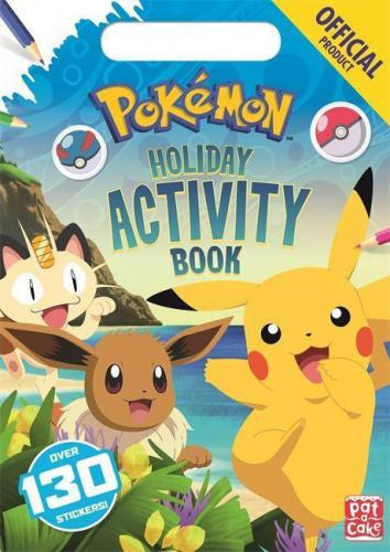The Official Pokemon Holiday Activity Book (Pokemon) The Detective Pikachu Movie arrives in cinemas on the 10th May 2019!  Join Pikachu and all of your favourite Pokemon for games, puzzles and activities for summer.   Spot your favourite Pokemon, learn awesome Pokemon facts and use your stickers to complete the activities.   This fun-packed book has a handle for little hands to carry, making it perfect for train, plane and bus journeys, as well as enjoying at home!   Perfect for little Pokemon fans!  About the Author Pokemon is one of the most popular and successful entertainment franchises in the world, encompassing video games, the Pokemon Trading Card Game (TCG), mobile games and apps, animation and movies, Play! Pokemon competitive events, and licensed products. It was first established in Japan in 1996 with the launch of the Pokemon Red and Pokemon Green video games for the Game Boy ™ system. The video games were released internationally in 1998 as Pokemon Red and Pokemon Blue. More than 20 years later, Pokemon continues to be a global entertainment mainstay and pop culture icon.