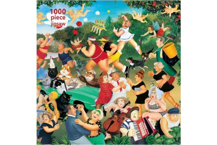 Adult Jigsaw Puzzle Beryl Cook: Good Times: 1000-piece Jigsaw Puzzles (1000-piece Jigsaw Puzzles)