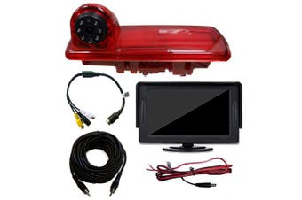 Renault Trafic Van Rear Brake Light Reversing Camera 2014 – Onwards With 11cm Dash Board Monitor