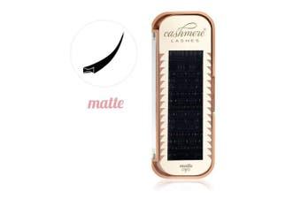 (0.25 D 11mm) - Cashmere Lashes® | Ellipse Flat Split Tips Lashes | Matte Finish 0.25 C D Curl Single & Mixed Tray | Individual Eyelash Extensions (0.25 D 11mm)