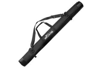 (black) - Booms Fishing PB2 Rod Bag Portable Folding Pole Storage Case