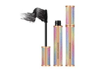 (1 pcs A) - Eyelash Mascara Extra Long Lash Mascara Waterproof 4D Fibre Mascara Thick Eyelashes Long-Lasting Eye Makeup (1 pcs A)