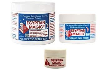 Egyptian Magic All Purpose Skin Cream Bundle - 3 items: 120ml Jar, 30ml Jar.740ml Jar (5.740ml Total)