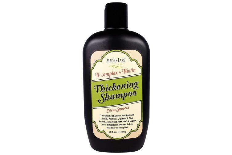 Thickening Shampoo, Citrus Squeeze, 14 fl oz (414 ml) - Madre Labs