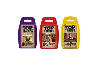 Top Trumps Harry Potter 3-5 Card Game Bundle