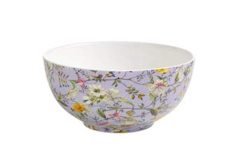 Maxwell Williams WK11700 Kilburn Bowl Winter Bloom 16 cm in Gift Box, Porcelain, Purple/multi-coloured