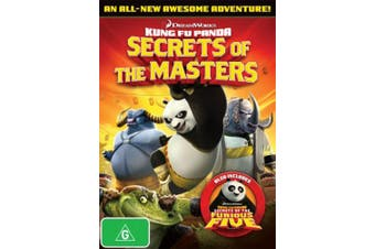 Kung Fu Panda: Secrets of the Masters (Includes Kung Fu Panda: Secrets of the Furious Five) [Region 4]
