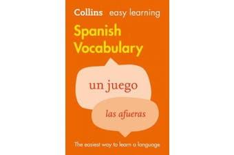 Easy Learning Spanish Vocabulary [Spanish]