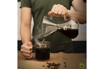 ParkBrew Pour Over Coffee Maker - Glass Carafe