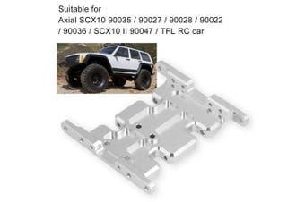 Dilwe Aluminium Alloy Accessory Part Gear Box Mount Holder for Axial SCX10 90035 / 90027 / 90028 / 90022 / 90036 / SCX10 II 90047 / TFL RC Crawler Car