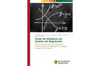 Teste de Hipótese em Análise de Regressão [Portuguese]