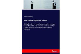 An Icelandic English Dictionary