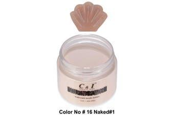 C & I Acrylic Powder, Colour # 16, 3 D Nail Flower, Sculpting Nail Powder, 40ml, 40 g