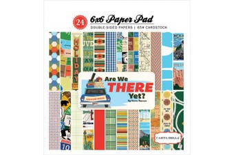 Carta Bella Paper Company are We There Yet 6x6 Paper Pad