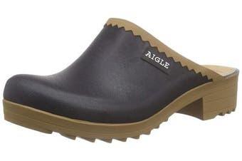 (6.5 UK, Blue (Marine)) - Aigle Women's Victorine Sabot Clogs