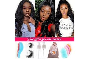 Brazilian Virgin Hair Lace Front Wigs Body Wave Glueless Human Hair Wigs with Baby Hair Unprocessed Virgin Hair Wigs for Black Women Body Wave Lace Front Wigs Human Hair Preplucked Hairline Full End