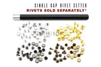 (5MM, Rivet Setter) - CRAFTMEmore Single Cap Rivet Setter Stud Die Punch Setting Tool (Rivet Setter, 5MM)