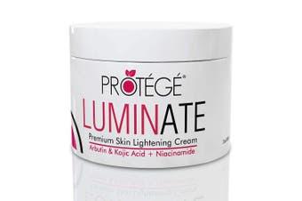 NEW! Skin Lightening Cream - PROTÉGÉ Luminate - Natural Skin Lightener Reduces Dark Spots and Age Spots + Uneven Skin Tone + Hyperpigmentation with Arbutin + Kojic Acid + Niacinamide (60ml)