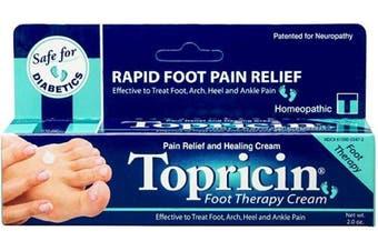 (60ml) - Topricin Foot Pain Relief Cream (60ml)