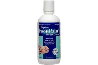 (240ml) - Topricin Foot Pain Relief Cream (240ml)