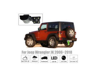 (License Plate Camera) - Misayaee Reversing Vehicle-Specific Camera Integrated in Number Plate Light Licence Rear View Backup camera for Jeep Wrangler Sahara Jeep Willys YJ TJ JK J8 Wrangler Rubicon Sahara