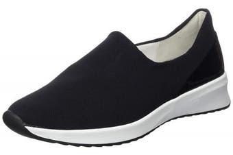 (6 UK, (Schwarz 0100)) - HÖGL Women's's Happy Loafers
