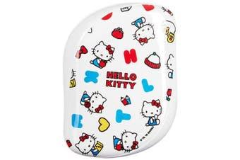 (Happy Life) - Tangle Teezer x Hello Kitty Compact Styler Detangling Hairbrush Happy Life