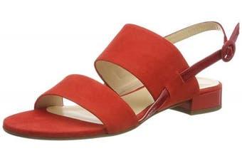 (5 UK, (Scarlet 4300)) - HÖGL Women's Clarity Sling Back Sandals