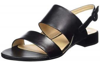 (4 UK, (Schwarz 0100)) - HÖGL Women's Clarity Sling Back Sandals