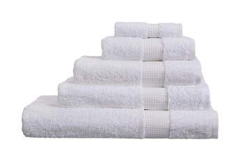 (Bath Sheet, White) - Olivia Rocco Egyptian Cotton Towels, Luxe Collection Towel 700 GSM, Bath Sheet White