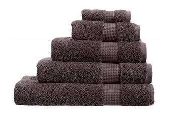 (Bath Sheet, Charcoal) - Olivia Rocco Egyptian Cotton Towels, Luxe Collection Towel 700 GSM, Bath Sheet Charcoal