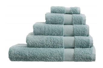 (Hand Towel, Duck Egg) - Olivia Rocco Egyptian Cotton Towels, Luxe Collection Towel 700 GSM, Hand Towel Duck egg