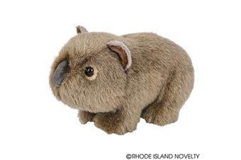 Adventure Planet 18cm Heirloom Wombat Stuffed Animal