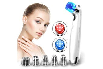 Blackhead Remover Pore Vacuum- Electric Blackhead Vacuum Suction Tool Set Skin Facial Pore Cleaner - Acne Comedo Eliminator Blackhead Extractor