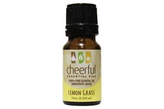(Lemon Grass) - A Cheerful Giver Lemon Grass Essential 10ml Oil Bottle