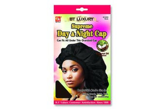 (Brown) - Beauty Town Day & Night Cap (Jumbo Size) Brown