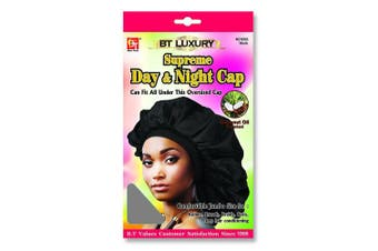 (Grey) - Beauty Town Day & Night Cap (Jumbo Size) Grey