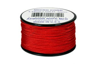 Red MS03 1.18mm x 38m Micro Cord Paracord Made in the USA