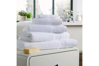 (Bath Towel, White) - Olivia Rocco Egyptian Cotton Towels, Home Collection Towel 500 GSM, Bath Towel White