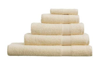 (XL Bath Sheet, Cream) - Olivia Rocco Egyptian Cotton Towels, Home Collection Towel 500 GSM, XL Bath Sheet Cream