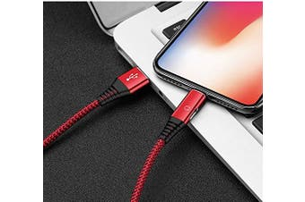 (Red) - & #128077; iPhone Lightning Splitter Cable, iFlash 2in1 Audio & Charging Lightning Splitter for Apple iPhone Xs MAX, XR, X, 8 Plus, 8, 7 Plus, 7 2019 2018 2017 8Pin Adapter (Red)